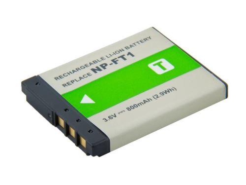 Baterie Sony NP-FT1, 3,6V (3,7V), 750mAh, 2,6Wh