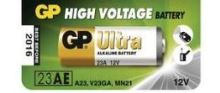 Baterie GP 23AE, LRV08, 23A, Alkaline, 12V, 1021002311, (Blistr 1ks)