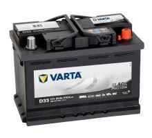 Autobaterie VARTA Black PROMOTIVE 66Ah, 12V (D33)