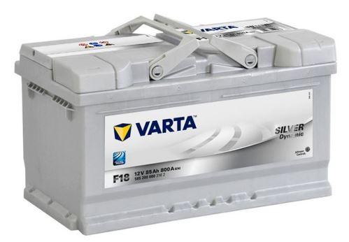 Autobaterie VARTA Silver Dynamic 85Ah, 800A 12V (F18)