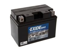 Motobaterie EXIDE BIKE Factory Sealed 8,6Ah, 12V, 145A, AGM12-8 (YTZ10-BS)