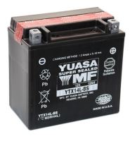 Motobaterie YUASA YTX14L-BS, 12V, 12Ah