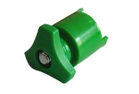 Akusvorka (bateriová svorka) Francouzský typ MÍNUSOVÁ (-), zelená