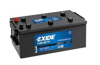 Autobaterie EXIDE StartPRO, 12V, 140Ah, 800A, EG1403