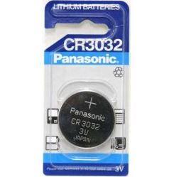 Baterie Panasonic CR3032, Lithium, 3V, (Blistr 1ks)