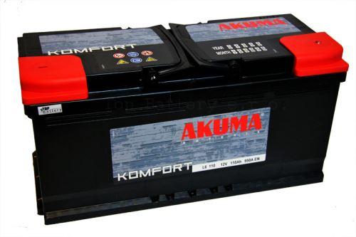 Autobaterie Akuma Komfort 12V, 110Ah, 950A, 7905557