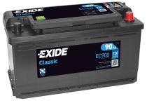 Autobaterie EXIDE Classic 12V, 90Ah, 720A, EC900
