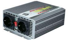 Trapézový měnič napětí DC/AC e-ast CL 700-D-24, 24V/230V, 700W, USB
