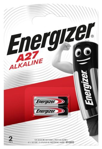 Baterie Energizer A27/E27A,27A, 12V, Alkaline EN-639333 (Blistr 2ks)