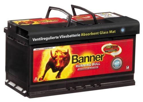 Autobaterie Banner Running Bull AGM 605 01, 105Ah, 12V, 950A (60501)