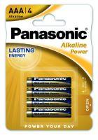 Baterie Panasonic Alkaline Power AAA, LR03, (Blistr 4ks)