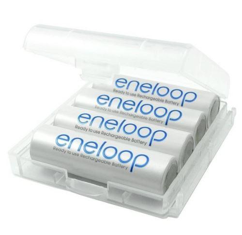 Ansmann plastové pouzdro na (4ks) baterie, bílá