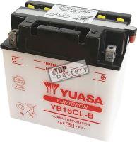 Motobaterie Yuasa YB16CL-B, 12V, 19Ah