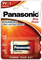 Baterie Panasonic Pro Power, 6LR61, 9V, (Blistr 1ks)