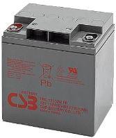 Akumulátor (baterie) CSB HRL12110W, 12V, 27,5Ah, zapuštěný závit M5
