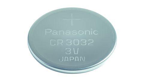 Baterie Panasonic CR3032, Lithium, 500mAh, 3V,  1ks