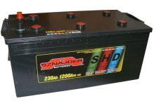 Autobaterie Sznajder SHD 230Ah, 12V, startovací proud 1100A