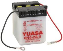 Motobaterie YUASA 6N4-2A-5, 6V, 2Ah
