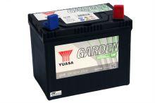 Baterie Yuasa Garden U1R 30Ah, 270A, baterie pro zahradní techniku (Plus vpravo)