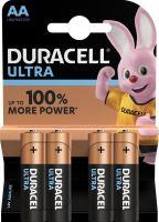 Baterie Duracell Ultra Power MX1500, AA, (Blistr 4ks)
