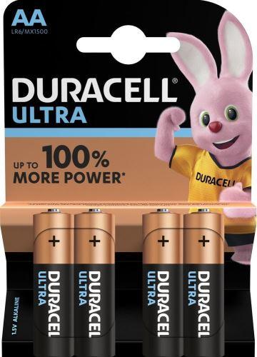 Baterie Duracell Ultra Power MX1500, AA, LR06, alkaline (Blistr 4ks)