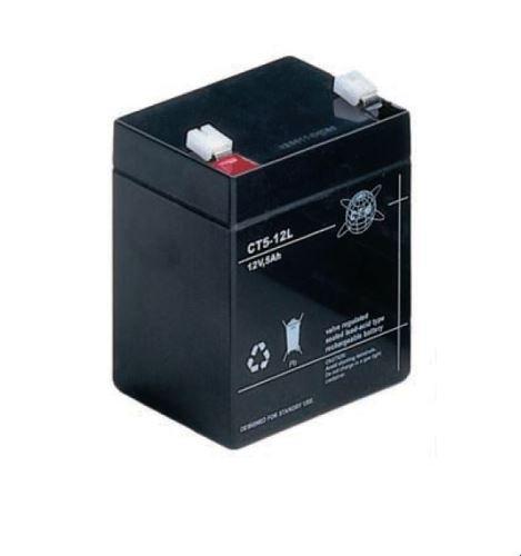 Akumulátor (baterie) CTM/CT 12-5 (5Ah - 12V - Faston 187)