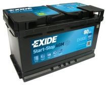 Autobaterie EXIDE Start-Stop AGM, 12V, 80Ah, EK800