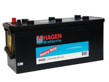 Autobaterie Hagen 140Ah, 12V, 800A