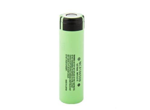 Baterie Panasonic 18650, NCR18650B, 3,7V, 3400mAh, Li-ion, 1ks