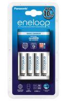 Nabíječka Panasonic Eneloop Charger BQ-CC51E + 4x BK-4MCCE, AAA, 800mAh, K-KJ51MCC04E