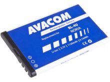 Baterie Avacom GSNO-BL4U-S1120A, Nokia BL-4U, 1120mAh, 4,14Wh, Li-ion (náhrada BL-4U)