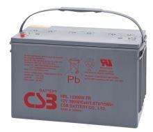 Akumulátor (baterie) CSB HRL12390W, 12V, 100Ah, zapuštěný závit M6, M8