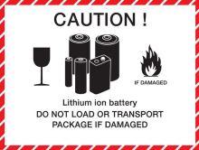 Akumulátor Panasonic VL-2020/HFN, lithiová, nabíjecí