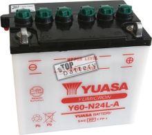 Motobaterie Yuasa Y60-N24L-A, 12V, 28A