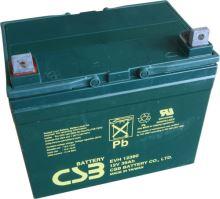 Akumulátor (baterie) CSB EVH12390, 12V, 39Ah, šroubová spojka M6