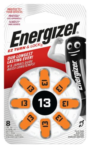 Baterie do naslouchadel Energizer 13 SP-8 8 ks EN-634922 , (Blistr 8ks)