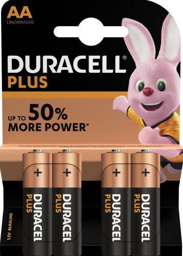 Baterie Duracell Plus Power MN1500, AA, (Blistr 4ks)