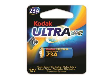 Baterie Kodak Ultra 23AE, LRV08, 23A, Alkaline, 12V, (Blistr 1ks)
