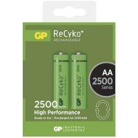 Baterie GP ReCyko+ 2500 HR6 (AA), nabíjecí, 1032212110 (Blistr 2ks)