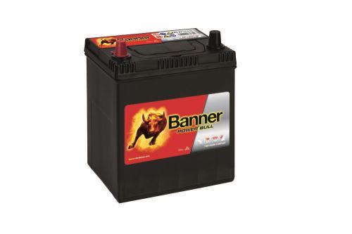Autobaterie Banner Power Bull P40 27, 40Ah, 12V, 330A (P4027) - Levá