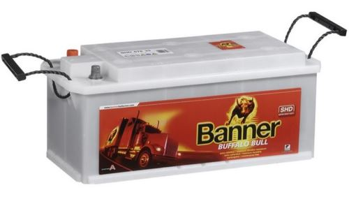 Autobaterie Banner Buffalo Bull SHD 610 40, 110Ah, 12V, 760A ( 61040 )