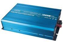 Měnič napětí z 24V na 230V, 3000W sinus + USB