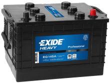 Autobaterie EXIDE Profesional, 12V, 145Ah, 1000A, EG145A