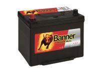 Autobaterie Banner Power Bull P70 24, 70Ah, 12V, 570A (P7024) - Levá