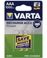 Baterie Varta HR03, 56713, AAA, 1000mAh, nabíjecí, (Blistr 2ks)