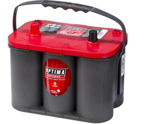 Autobaterie Optima Red Top S-4.2, 50Ah, 12V, 815A, (8002-250)