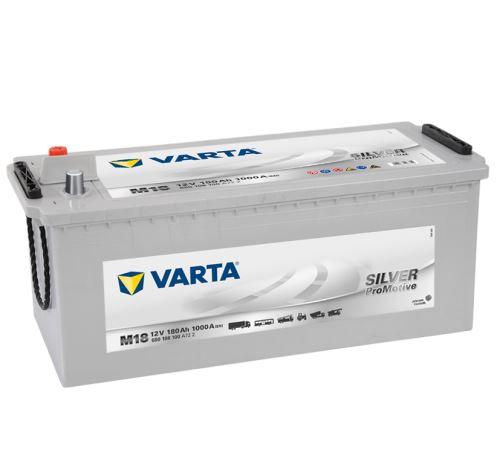 Autobaterie VARTA Silver PROMOTIVE 180Ah, 1000A, 12V (M18)