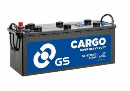 Autobaterie GS Cargo Super Heavy Duty (SHD) 143Ah, 12V, 900A