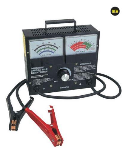 Profesionální FY-500 zátěžový tester  baterií s měřením V+A  500A
