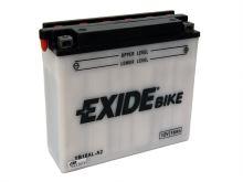 Motobaterie EXIDE BIKE Conventional 16Ah, 12V, 220A, YB16AL-A2